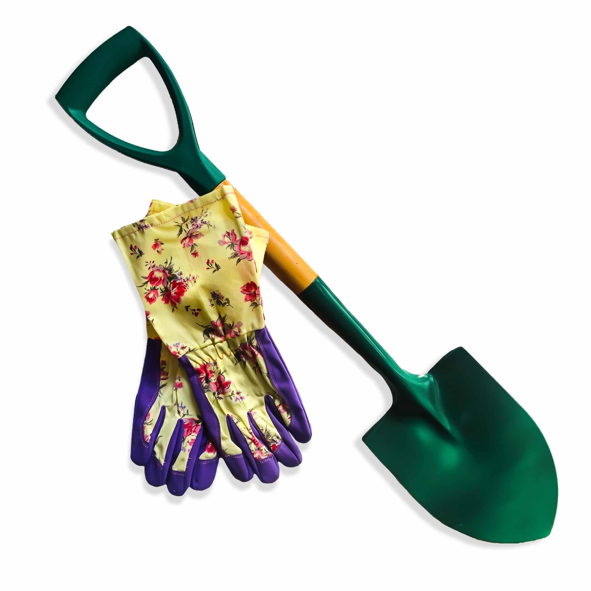 long-sleeve-flower-gloves-&-small-shovel-combo